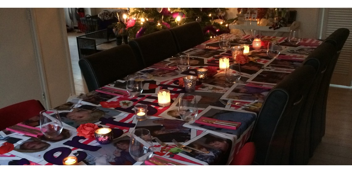 Bestel tafellaken met foto